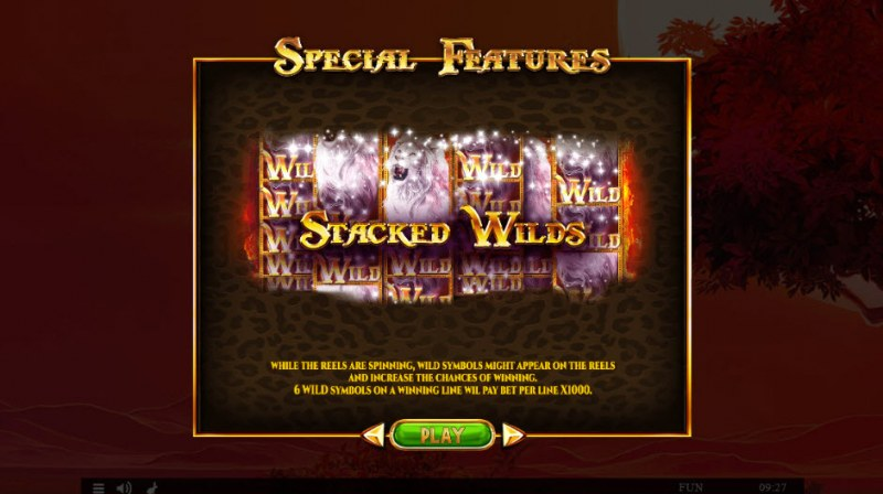 Majestic King Expanded Edition :: Stacked Wilds