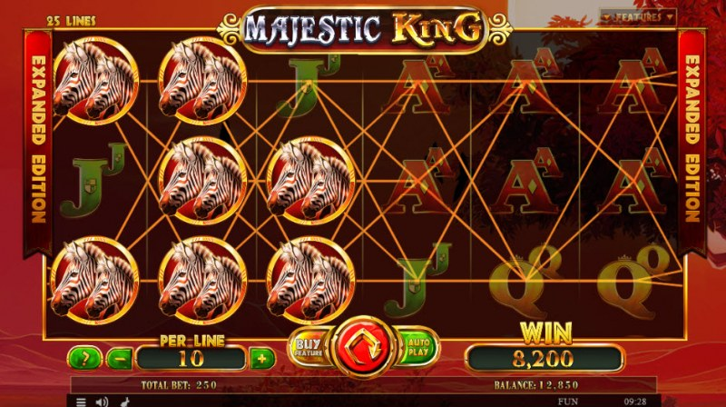 Majestic King Expanded Edition :: Double symbols win