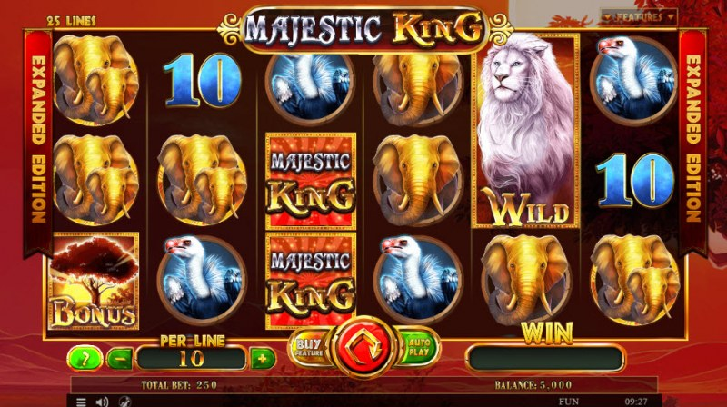Majestic King Expanded Edition :: Main Game Board