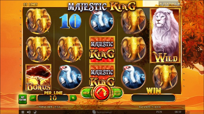Majestic King :: Main Game Board