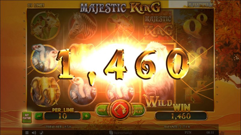 Majestic King :: Big Win