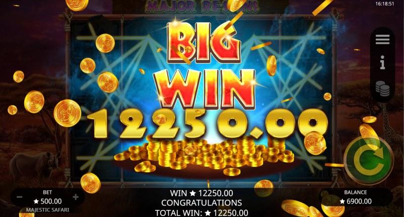 Majestic Safari :: Big Win