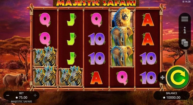 Majestic Safari :: Base Game Screen