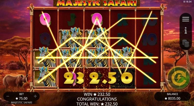 Majestic Safari :: Multiple Winning Lines
