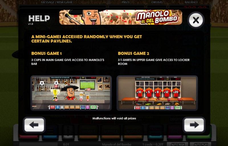 Manolo el del Bombo :: Feature Rules