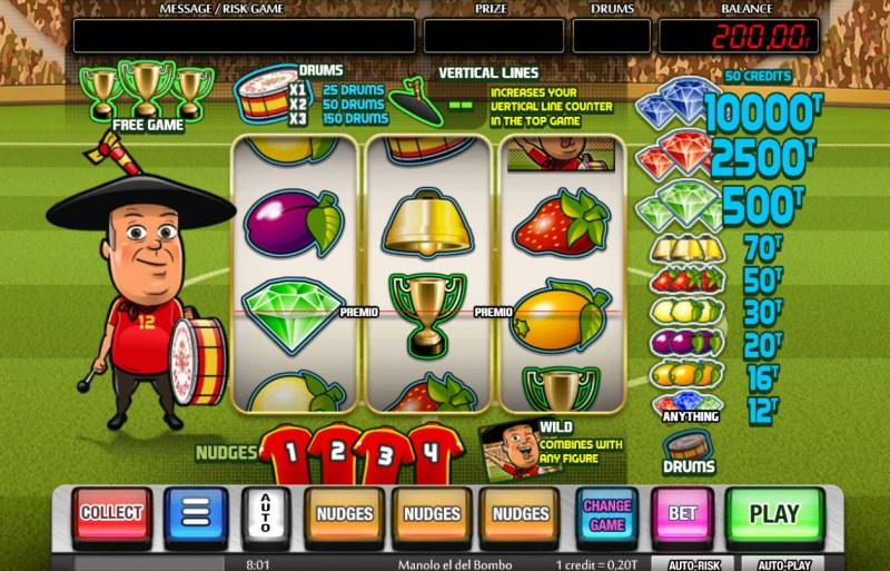 Manolo el del Bombo :: Main Game Board