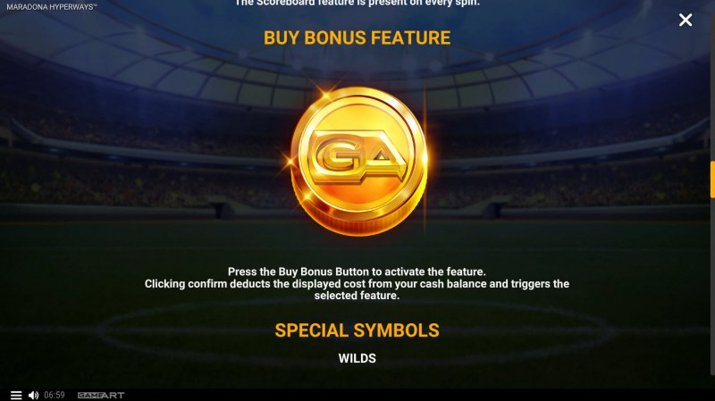 Maradona Hyperways :: Buy Feature