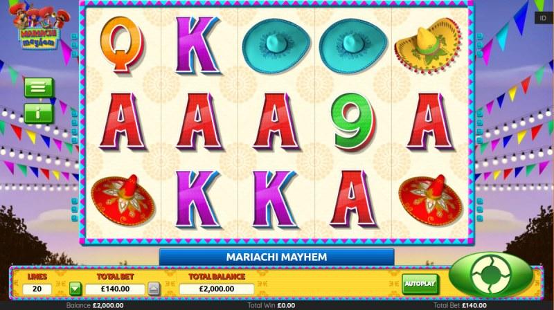 Mariachi Mayhem :: Main Game Board
