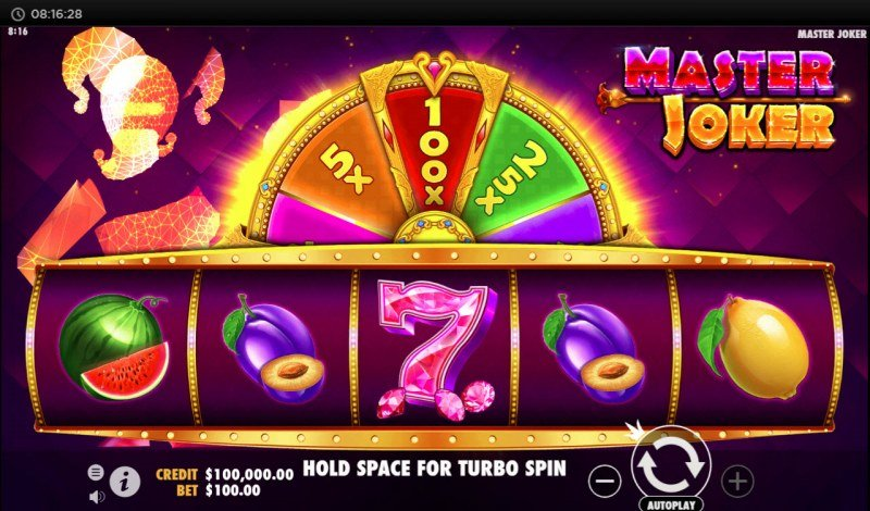 Play slots at Noxwin: Noxwin featuring the Video Slots Master Joker with a maximum payout of $1,000,000
