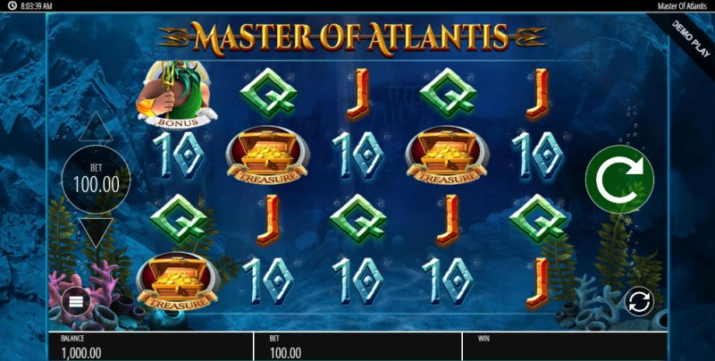 Master of Atlantis :: Main Game Board