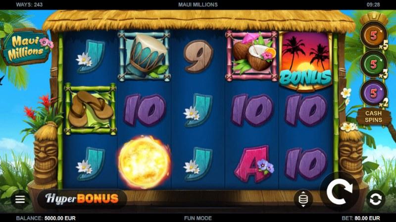 Maui Millions :: Main Game Board