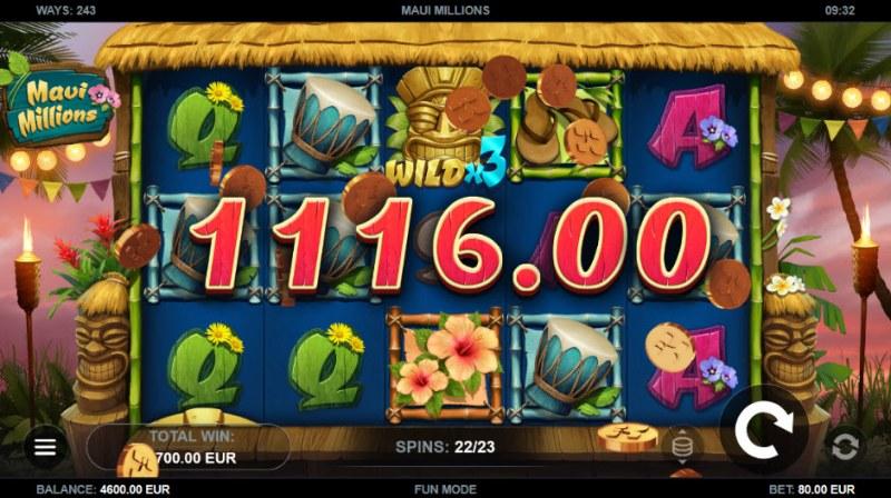 Maui Millions :: Big Win