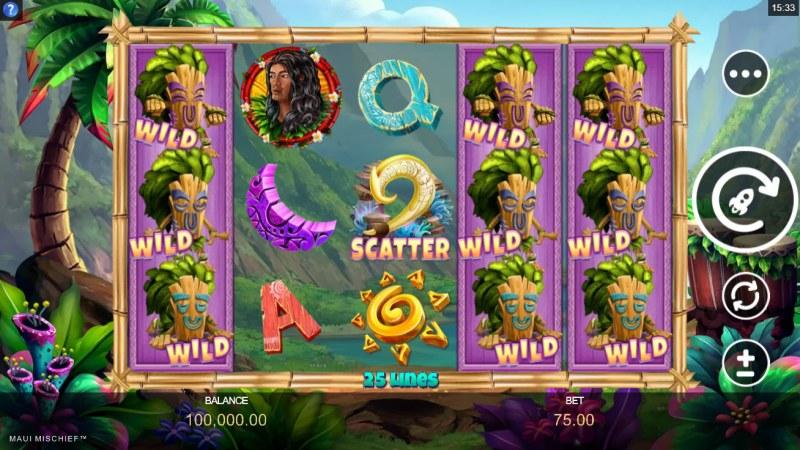 Maui Mischief :: Main Game Board