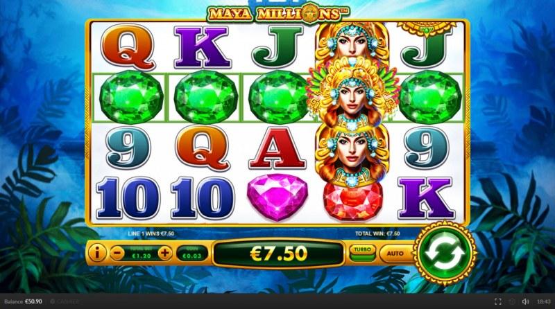 Maya Millions :: Five of a kind