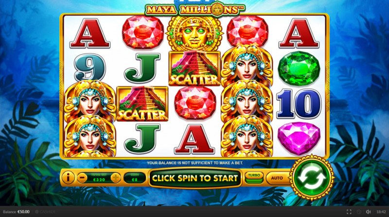 Maya Millions :: Main Game Board