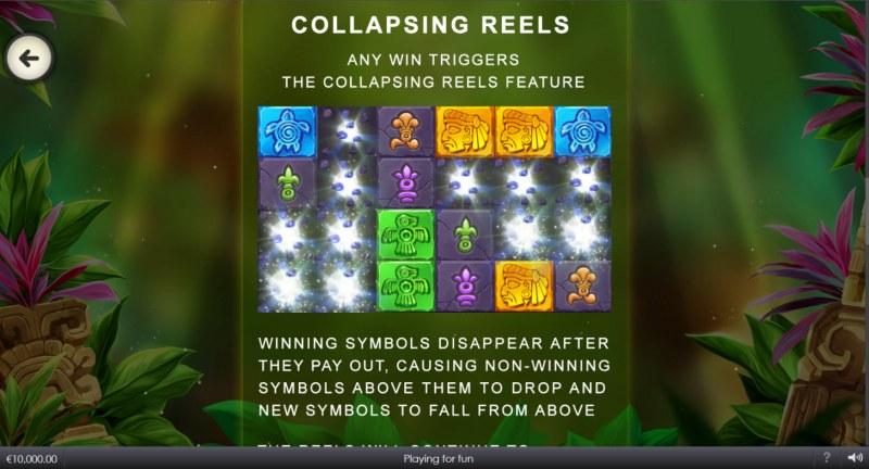 Mayan Blocks :: Collapsing Reels