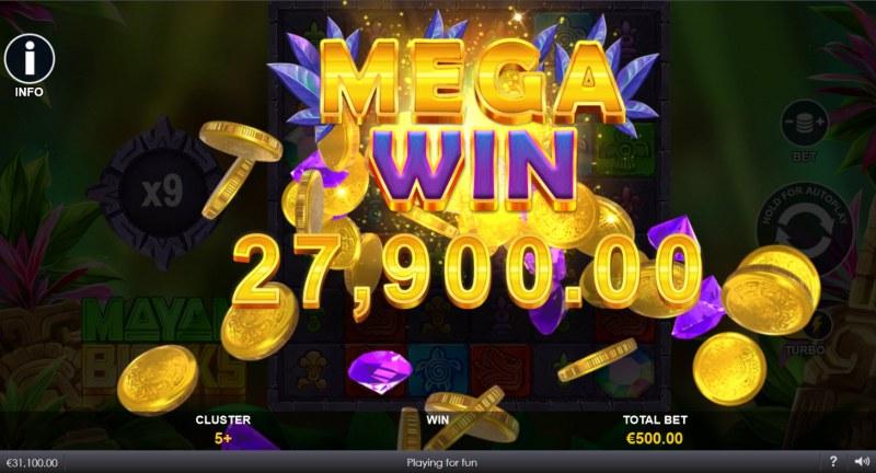 Mayan Blocks :: Mega Win