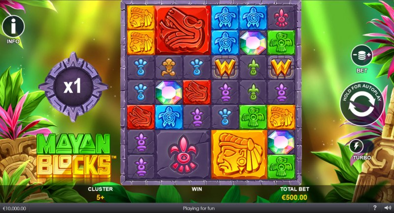 Mayan Blocks :: Main Game Board