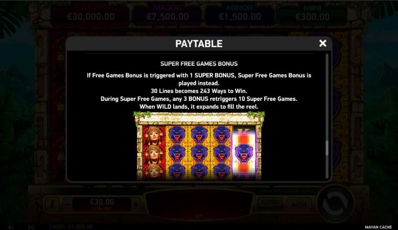 Mayan Cache :: Super Free Games
