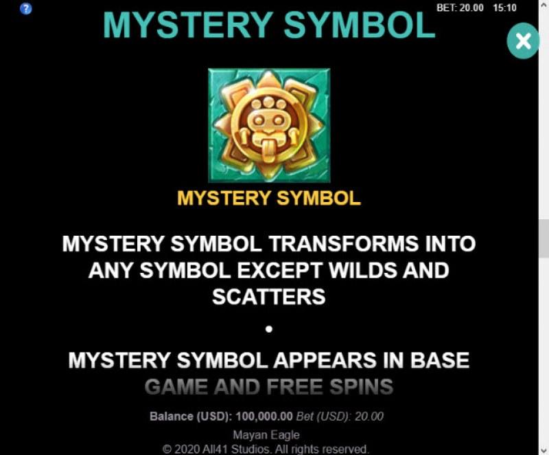 Mayan Eagle :: Mystery Symbol