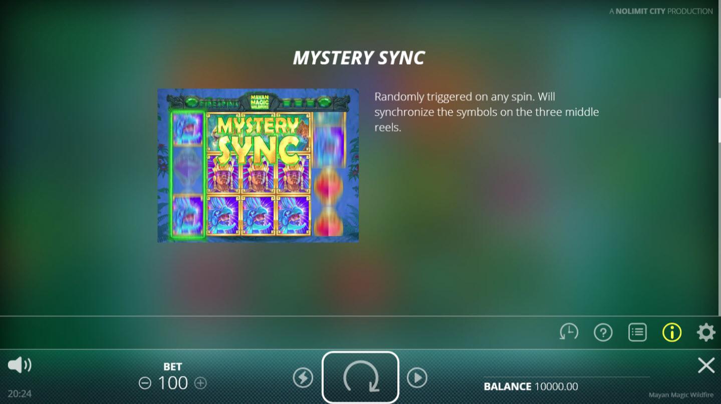 Mayan Magic Wildfire :: Mystery Sync