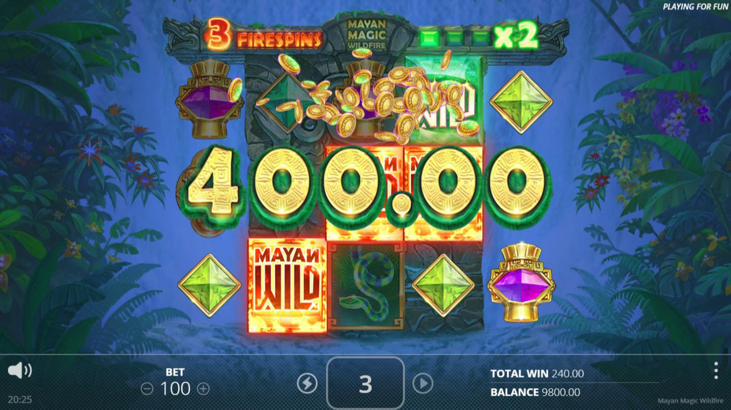 Mayan Magic Wildfire :: Big Win