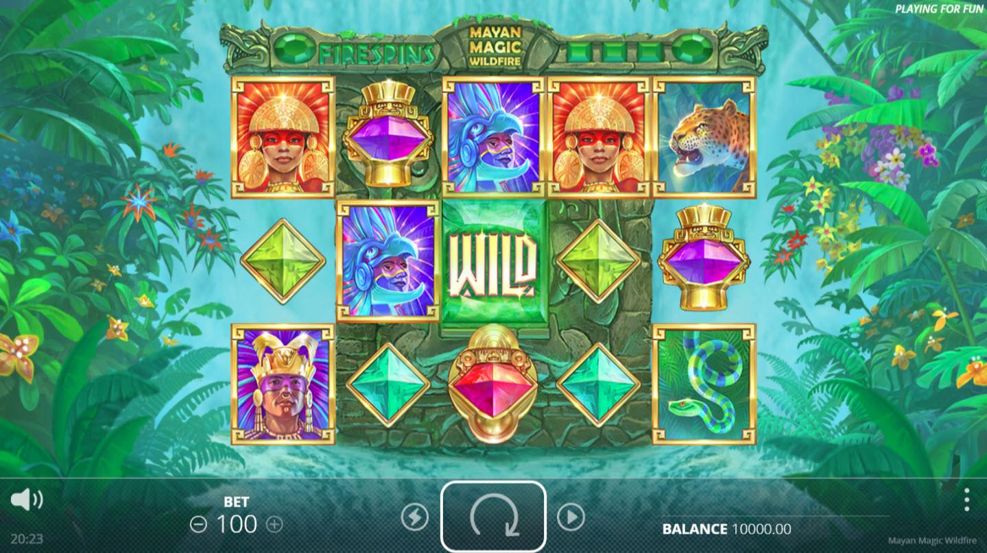 Mayan Magic Wildfire :: Main Game Board
