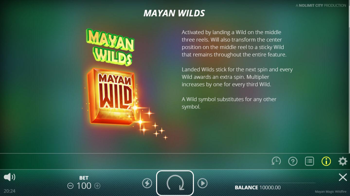 Mayan Magic Wildfire :: Mayan Wilds