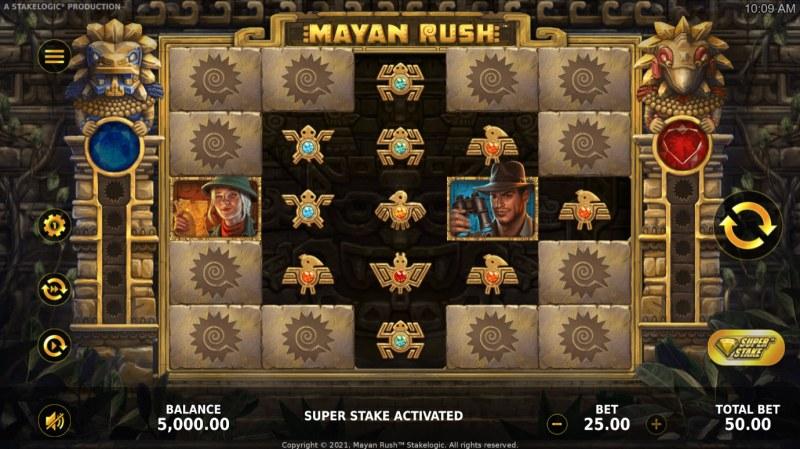 Mayan Rush :: Main Game Board