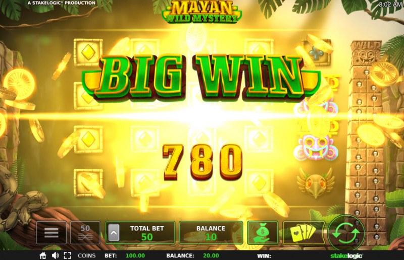Mayan Wild Mystery :: Big Win