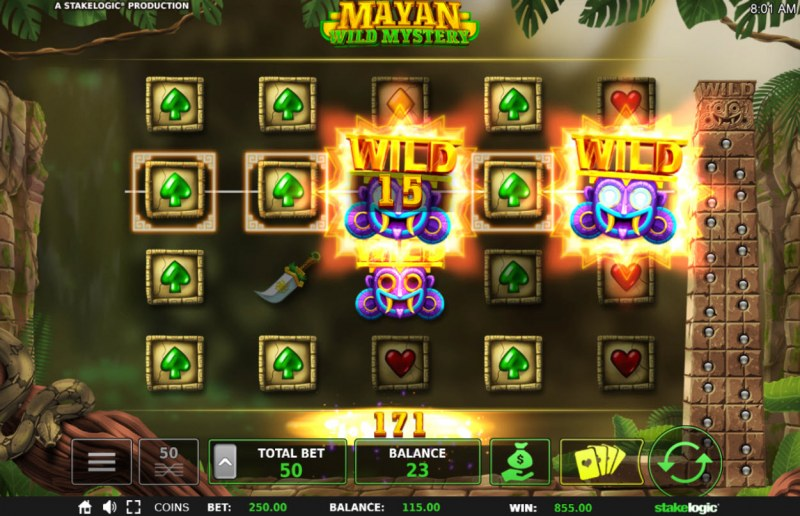 Mayan Wild Mystery :: Five of a kind