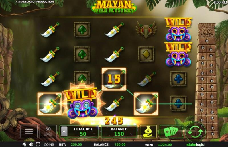 Mayan Wild Mystery :: Multiple winning paylines