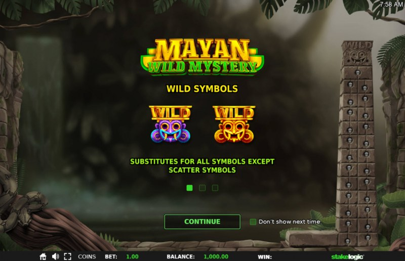 Mayan Wild Mystery :: Introduction