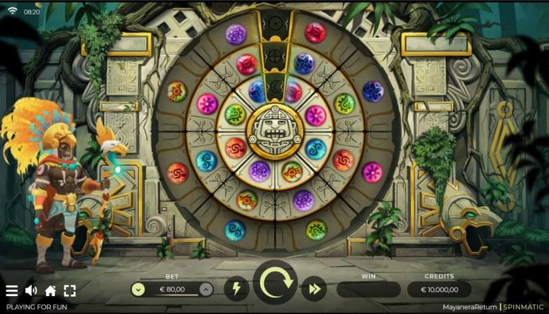 Mayanera Return :: Base Game Screen