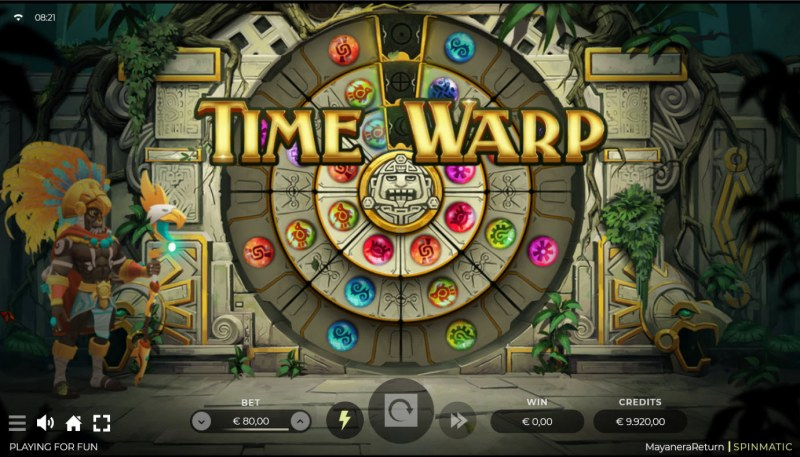 Mayanera Return :: Time Warp feature randomly activates
