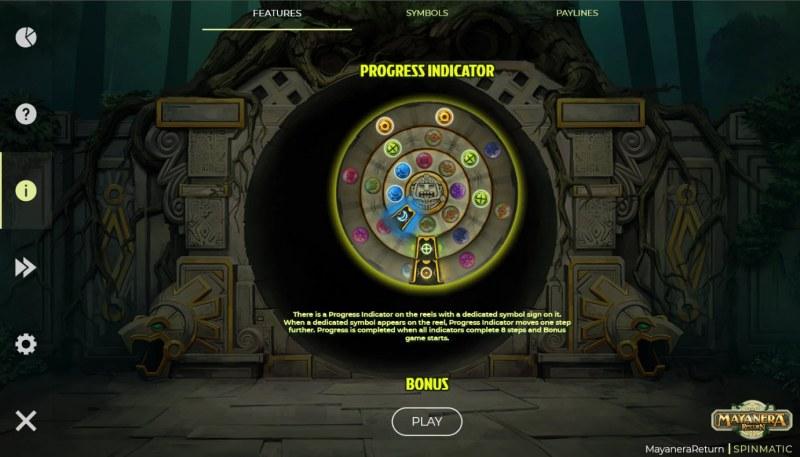 Mayanera Return :: Progress Indicator