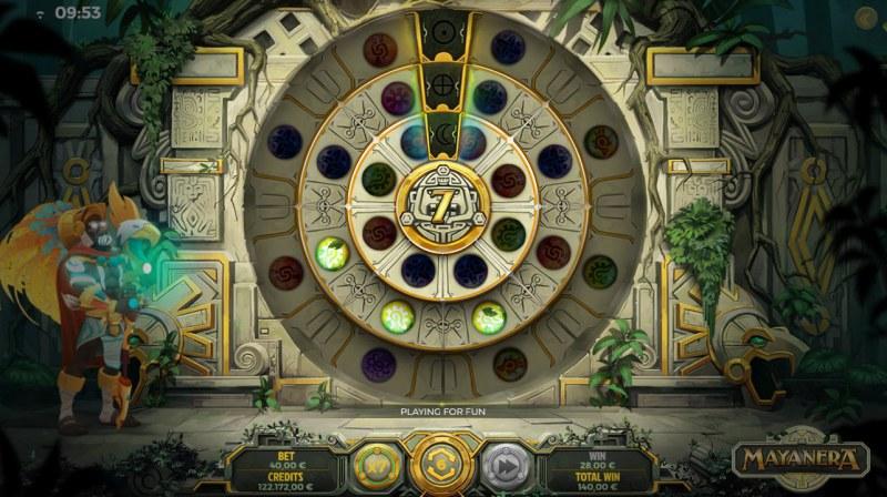 Mayanera :: Free Spins Game Board