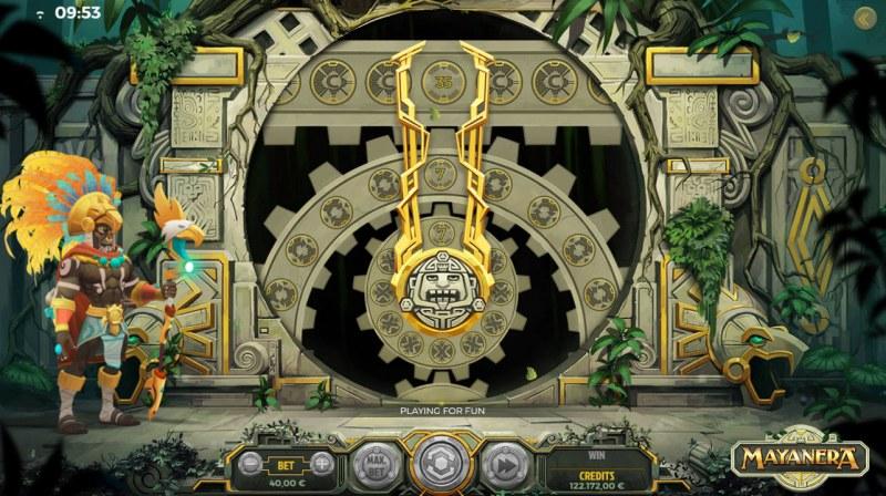 Mayanera :: Bonus Wheel Game Board