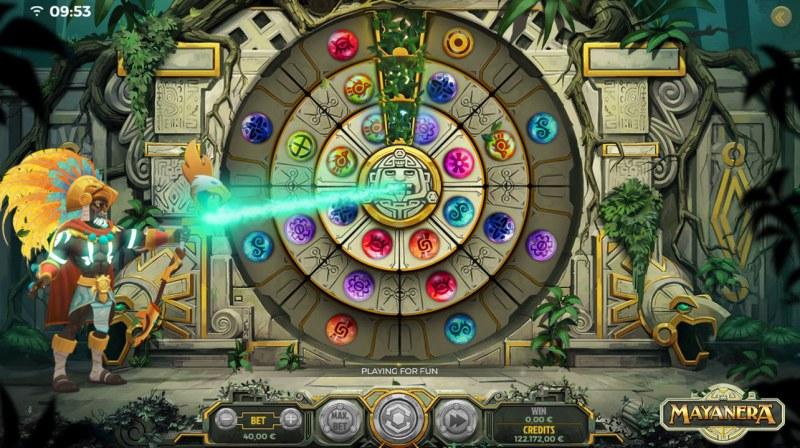 Mayanera :: Aligning all three segments triggers bonus feature