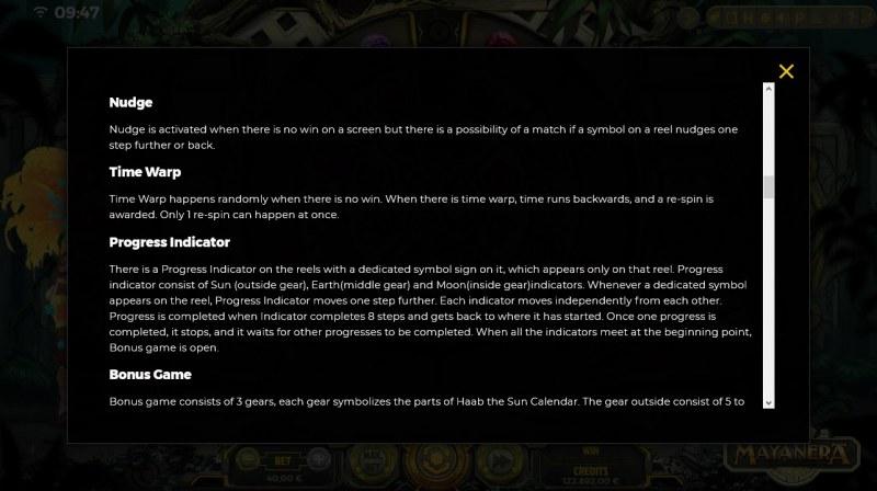 Mayanera :: General Game Rules