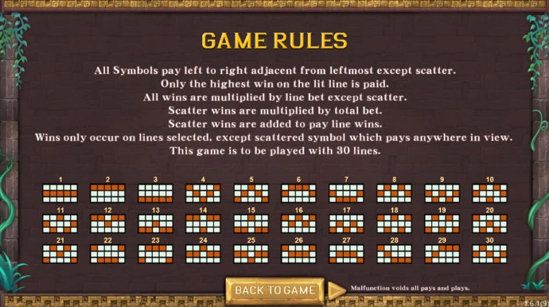 Maya's Miracle :: General Game Rules