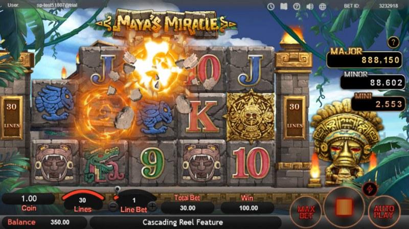 Maya's Miracle :: Cascading Symbols