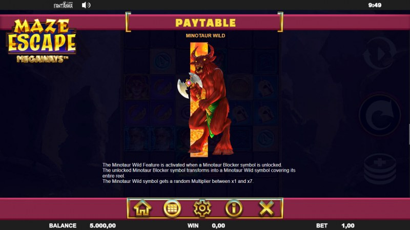 Maze Escape :: Minotaur Wild