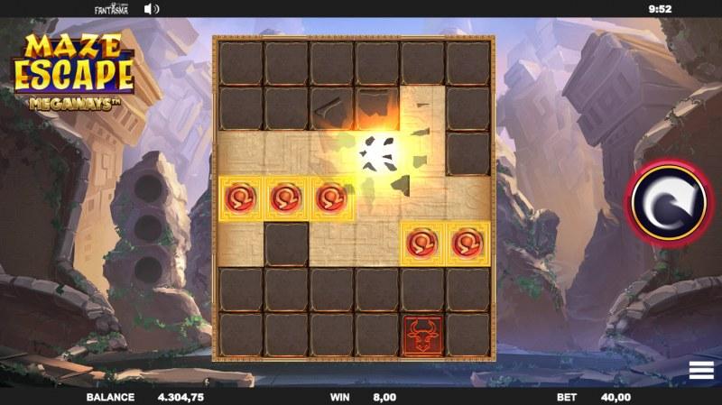 Maze Escape :: Shifting Maze triggered