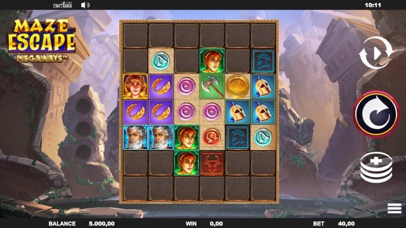 Maze Escape :: Main Game Board