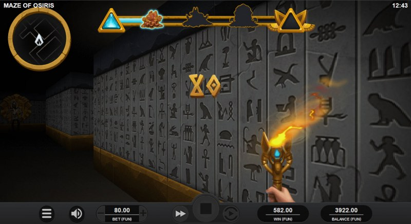 Maze of Osiris :: Collect prizes in the maze