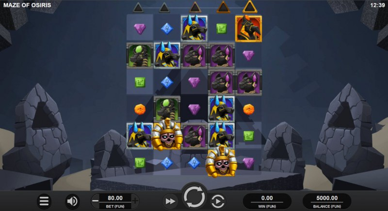 Maze of Osiris :: Main Game Board