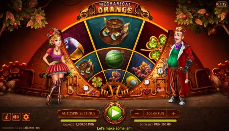 Mechanical Orange :: Base Game Screen