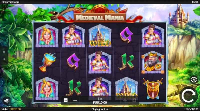 Medieval Mania :: Base Game Screen
