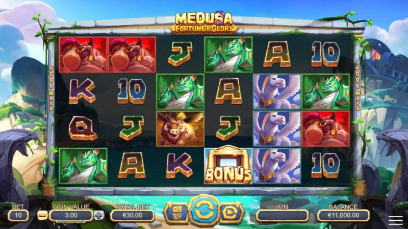 Medusa Fortune & Glory :: Main Game Board